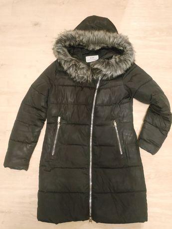 Женский пуховик пальто куртка зимняя