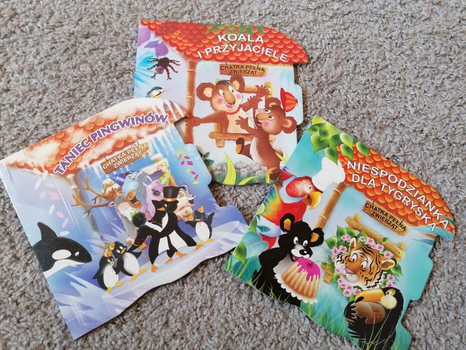 Zestaw 3 szt książeczek dla dzieci Dorotowo - image 1