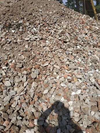 Gruz betonowy kruszywa