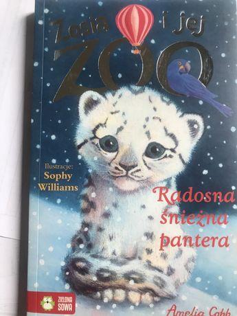 Zosia i jej ZOO radosna sniezna pantera