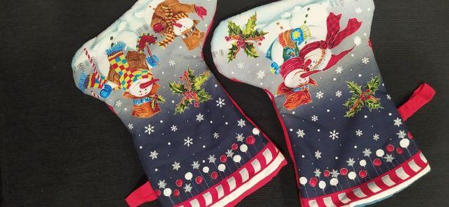 botas decorativas de natal