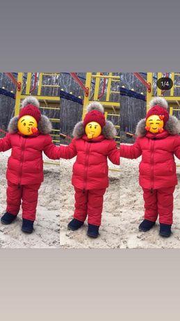 Зимний костюм Moncrler