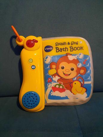 Vtech książeczka edukacyjna do kąpieli stan bardzo dobry