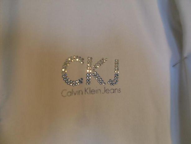 Bluzka Calvin Klein z kryształkowym logo GRATIS wysyłka