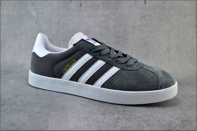 Мужские кроссовки Adidas Gazelle Gray, Мужские кеды