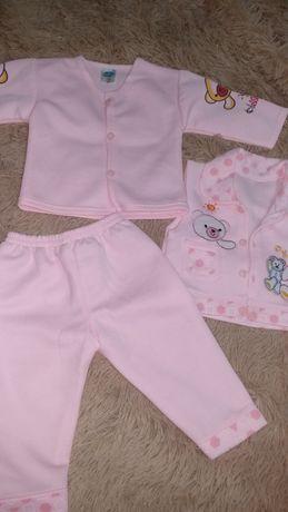 Костюм детский кофта светр штани спортивний тройка безрукавка