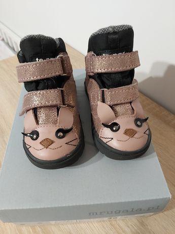 Buty dla dziewczynki r.22 firmy Mrugala