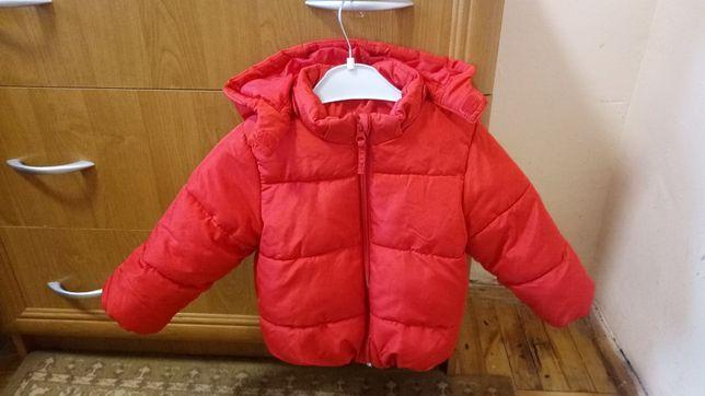 Куртка тепла дитяча 86см.