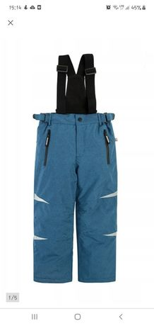 Spodnie narciarskie zimowe ocieplacze smyk cool club 98