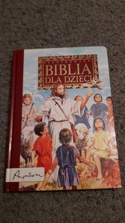 Duża ilustrowana Biblia dla dzieci