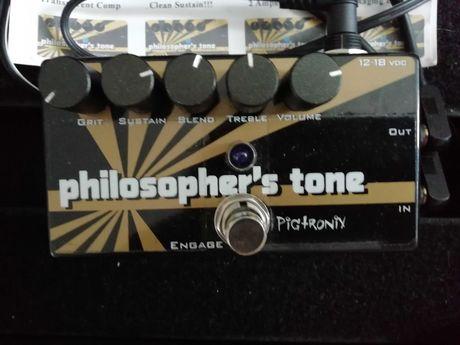 Pigtronix Philosopher's Tone (pudełko + zasilacz) kompresor/sustainer