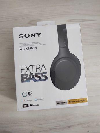 Słuchawki dla audiofila SONY WH-XB900N ANC z funkcją aptX HD