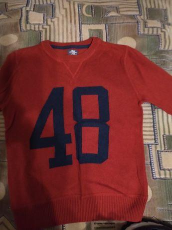 Кофта,свитер ,джемпер 128 рост 8-9 лет