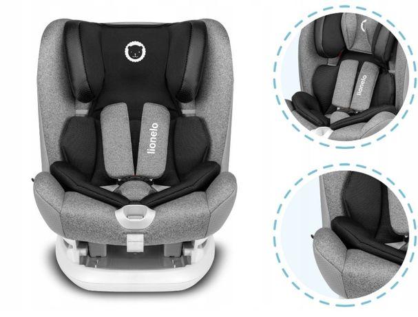 NOWY Fotelik Samochodowy LIONELO OLIVER ISOFIX 9-36 kg