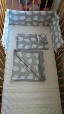 osłonka do łóżeczka i inne