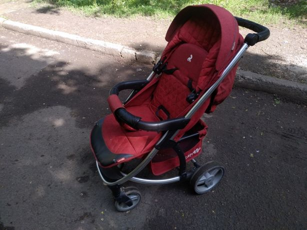Детская коляска Carrello Vista CRL-8505 Ruby Red Лен