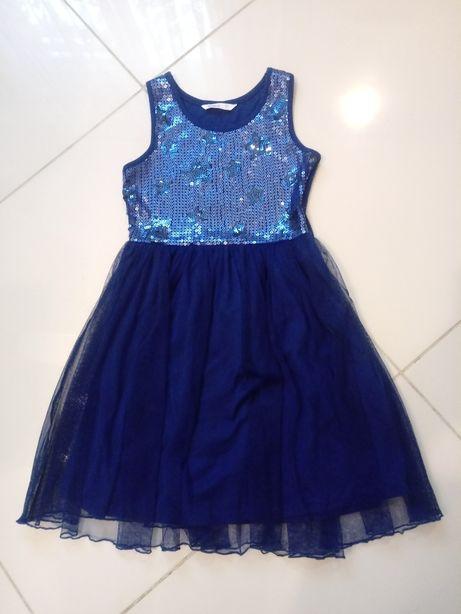Sukienka wizytowa CUBUS rozm. 134 / sukienka z tiulową spódnicą