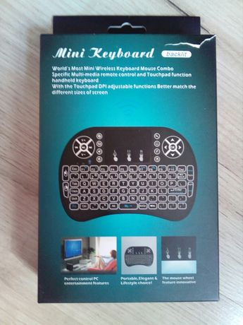 Mini Klawiatura wireless z touchpadem