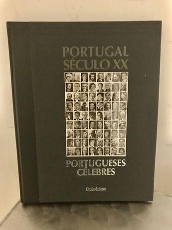 Portugueses Célebres NOVO Portugal Século XX