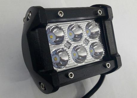 Lampa Robocza Diodowa 6-led 12V-24V Halogen