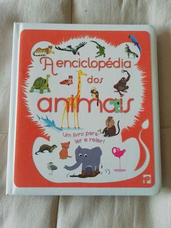 """Livro ilustrado """"A Enciclopédia dos animais"""""""