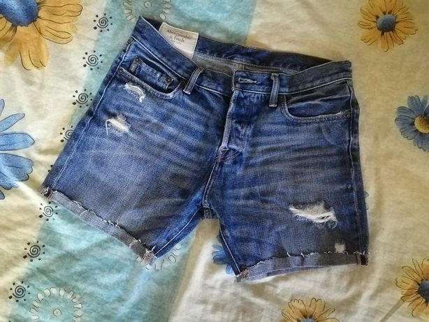 Шорты джинсовые Abercrombie & Fitch
