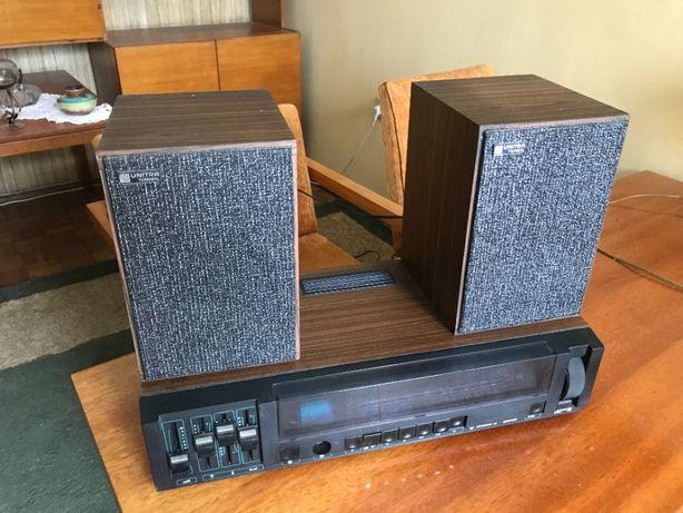 Radio UNITRA Diora amator 2 + zestaw głośnikowy UNITRA Tonsil ZG8-C