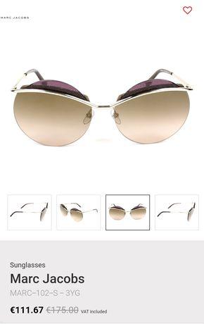 Óculos de sol Marc Jacobs originais, novos