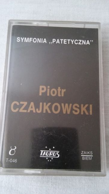 Kaseta magnetofonowa Piotr Czajkowski Symfonia Patetyczna