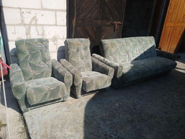 wersalka plus 2 fotele