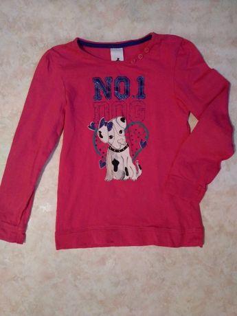Стильный свитшот, кофточка для девочки 4-6 лет