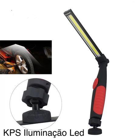 Lanterna Led Profissional c/ bateria