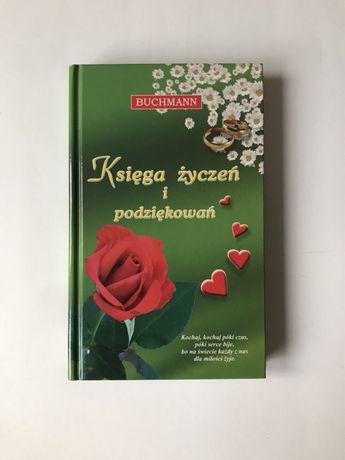 Książka życzeń i podziękowań