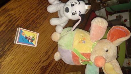 игрушка мягкая собака 101 долматинец и мышка крыска мышь
