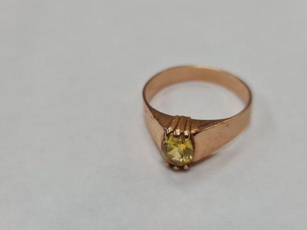 Retro! Piękny złoty pierścionek damski/ Radzieckie 583/ 4.05 gram/ R25