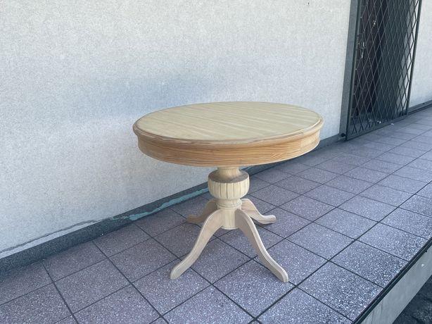 Stół okragły rozkładany rózne nogi