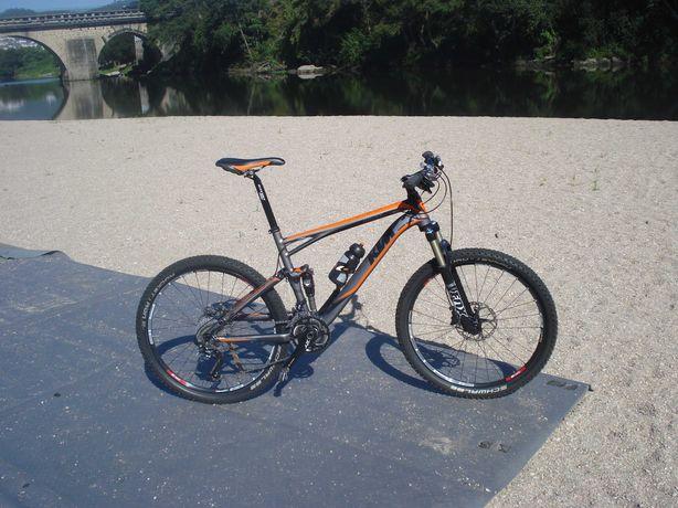 Bicicleta Montanha Suspensão Total KTM Phinx
