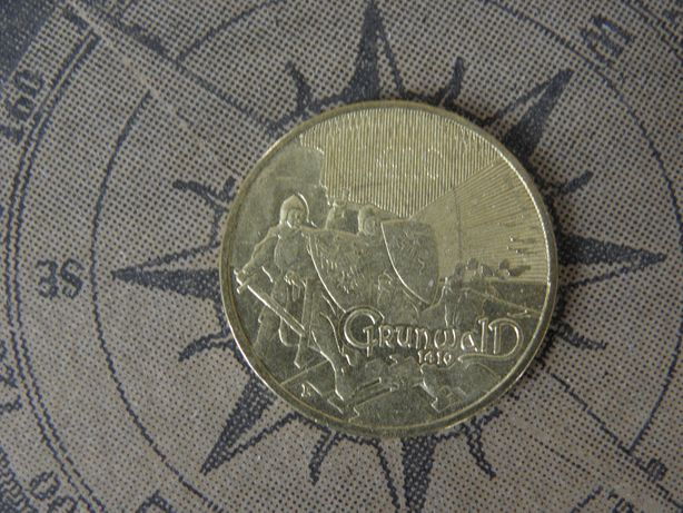 Moneta 2 zł Grunwald 1410 NG 2010 okolicznościowe 2 złote