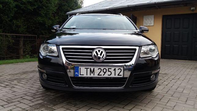 Volkswagen Passat B6 highline, czarna perła, bardzo zadbany