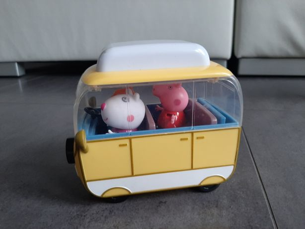 Peppa autobus bus zestaw