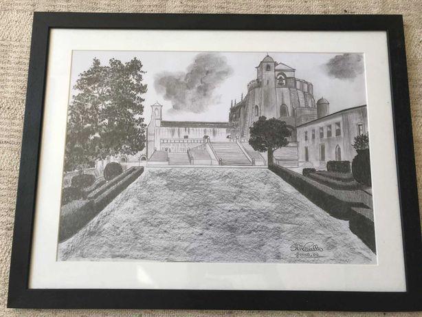 Quadro original do Convento de Cristo