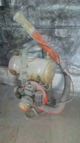 Maquina de sulfate com motor