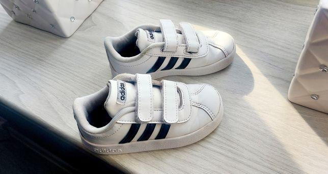 Buty buciki dziecięce adidas r.24 białe