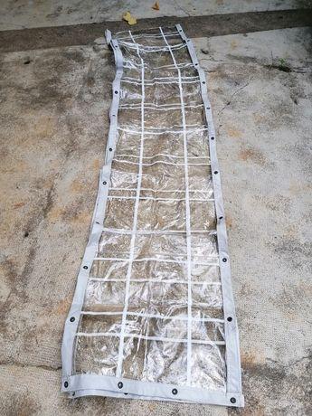 Lona oleado transparente usado para caravana ou avançado/tenda