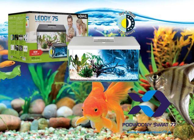 Zestaw akwarystyczny Aquael LEDDY Day&Night 25L 54L 105L XL - akwarium