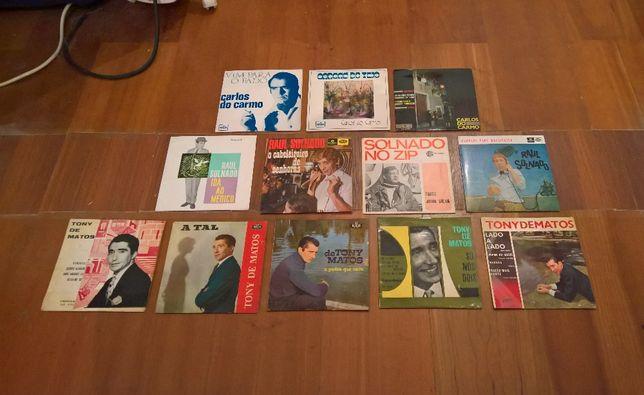 Lote de discos Single vários