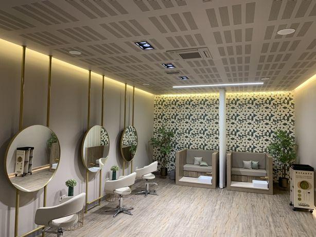 Exposicao Mobiliario cabeleireiro fábrica