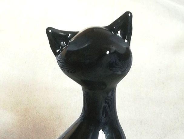 Статуэтка кошки из чешского стекла