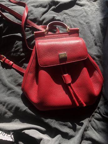 dolce & gabbana sicily structured backpack