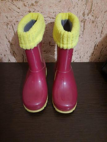 Продам дитячі гумові чоботи  Demar.